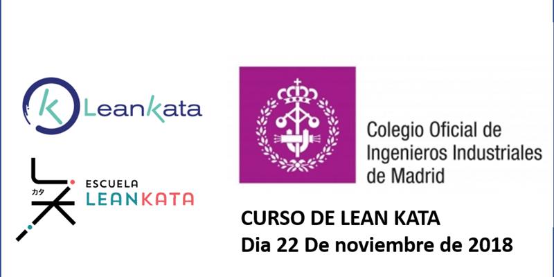 LEAN KATA En El Colegio De Ingenieros De Madrid