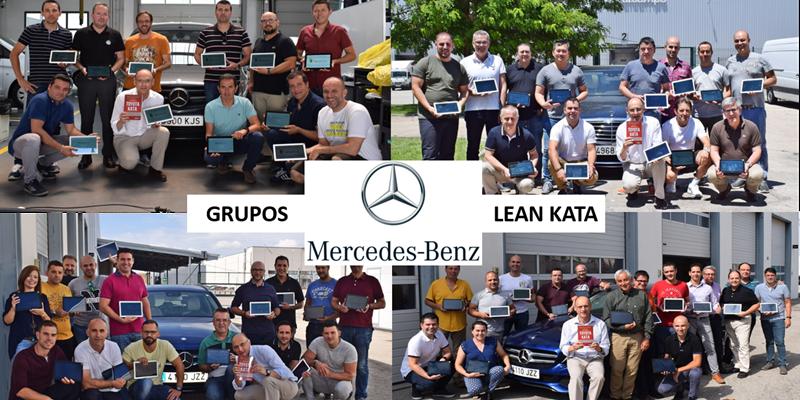 LEAN KATA En Mercedes Benz