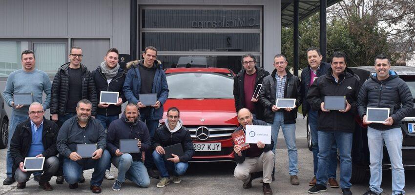 2019: LEAN KATA En Mercedes Benz