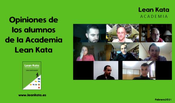Academia Lean Kata: Opiniones De Los Alumnos
