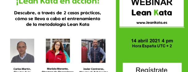 Webinar ¡Lean Kata En Acción! 14 De Abril 2021